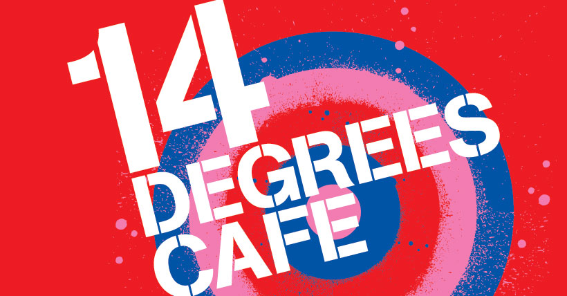 14 DEGREES CAFE IDENTITY