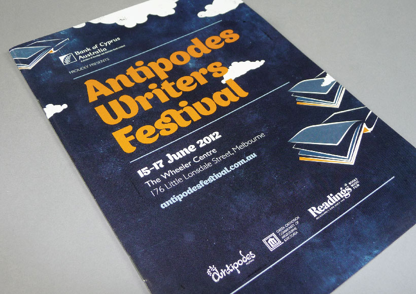ANTIPODES WRITERS FESTIVAL 2012