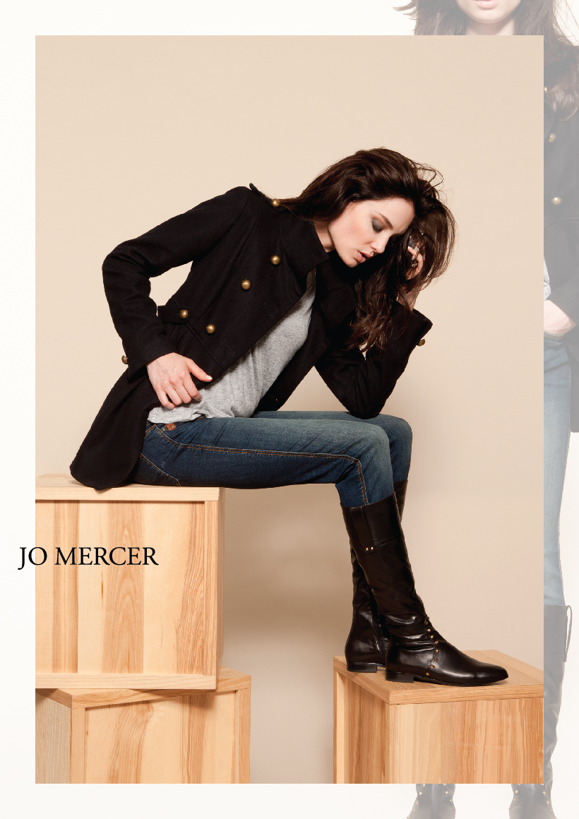JO MERCER AUTUMN/WINTER 2013 CAMPAIGN