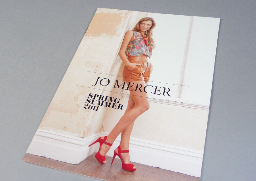 JO MERCER SPRING/SUMMER 2011 CATALOGUE · 01