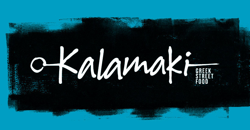 KALAMAKI GREEK STREET FOOD IDENTITY
