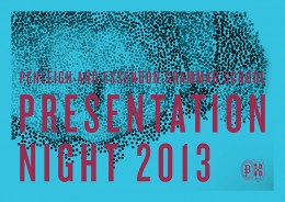 PEGS PRESENTATION NIGHT 2013 · 01