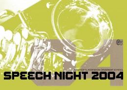 PEGS SPEECH NIGHT 2004 · 01