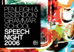 PEGS SPEECH NIGHT 2006 · 01