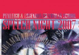 PEGS SPEECH NIGHT 2007 · 01
