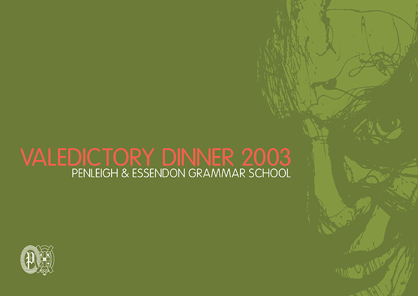 PEGS VALEDICTORY DINNER 2003