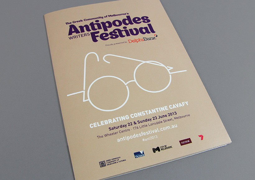 ANTIPODES WRITERS FESTIVAL 2013 · 02