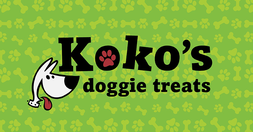 KOKO'S DOGGIE TREATS IDENTITY