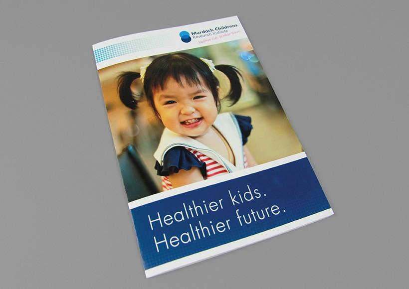 MURDOCH CHILDRENS RESEARCH INSTITUTE DONATION BROCHURE · 01