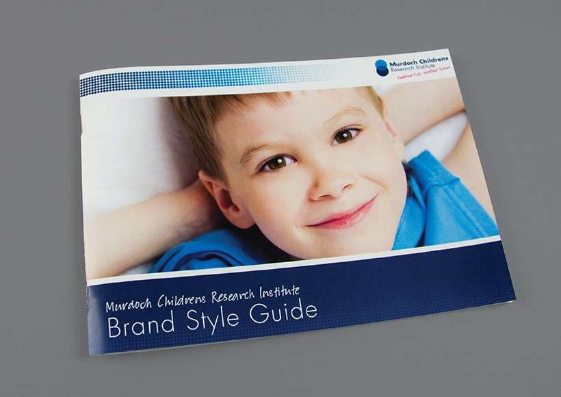 MURDOCH CHILDRENS RESEARCH INSTITUTE BRAND STYLE GUIDE · 01