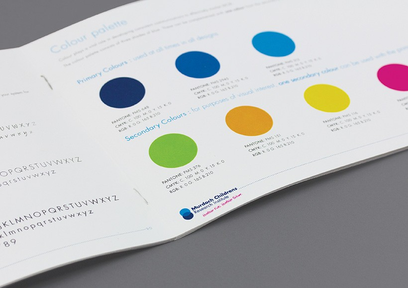 MURDOCH CHILDRENS RESEARCH INSTITUTE BRAND STYLE GUIDE · 02