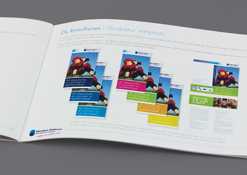 MURDOCH CHILDRENS RESEARCH INSTITUTE BRAND STYLE GUIDE · 03