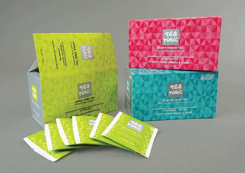TEA TONIC BOX PACKAGING