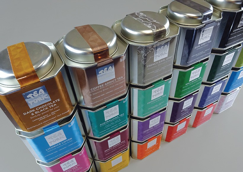TEA TONIC CADDY PACKAGING · 03