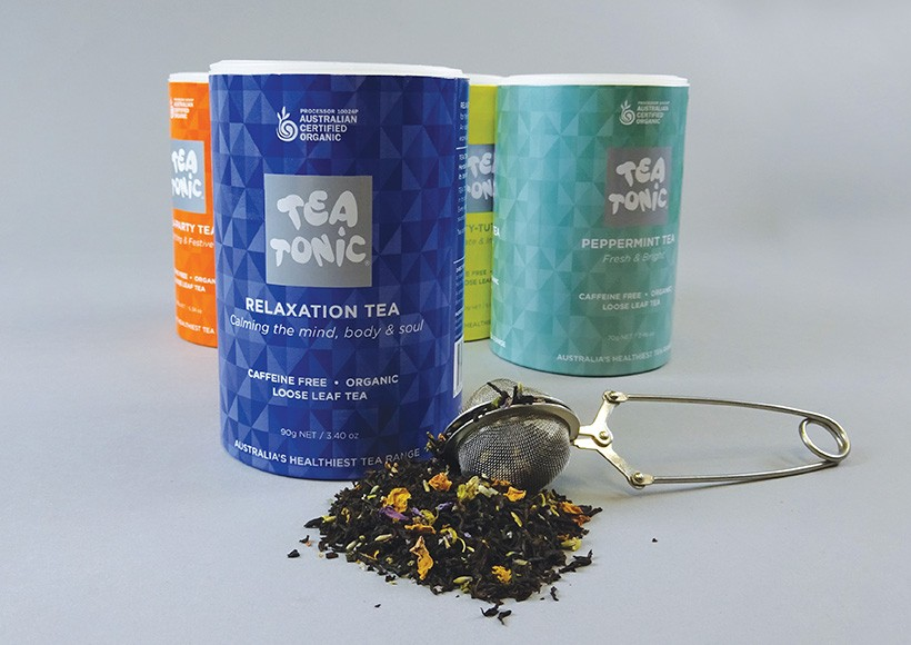 TEA TONIC TUBE PACKAGING · 03