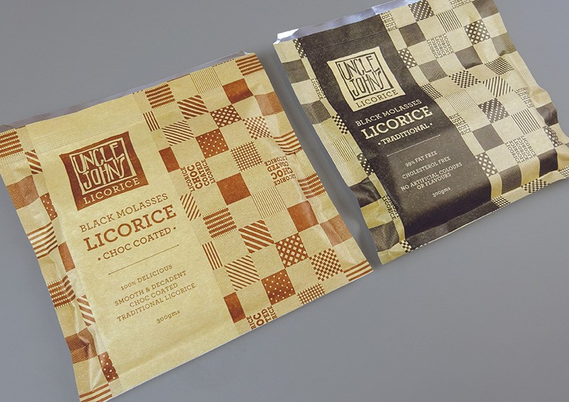 UNCLE JOHN'S LICORICE PACKAGING · 02