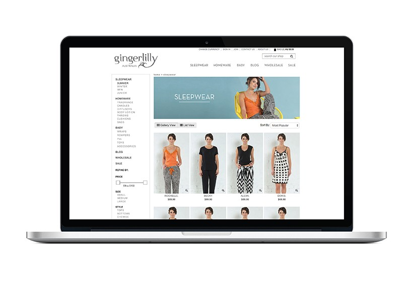 GINGERLILLY SS13 WEBSITE · 03