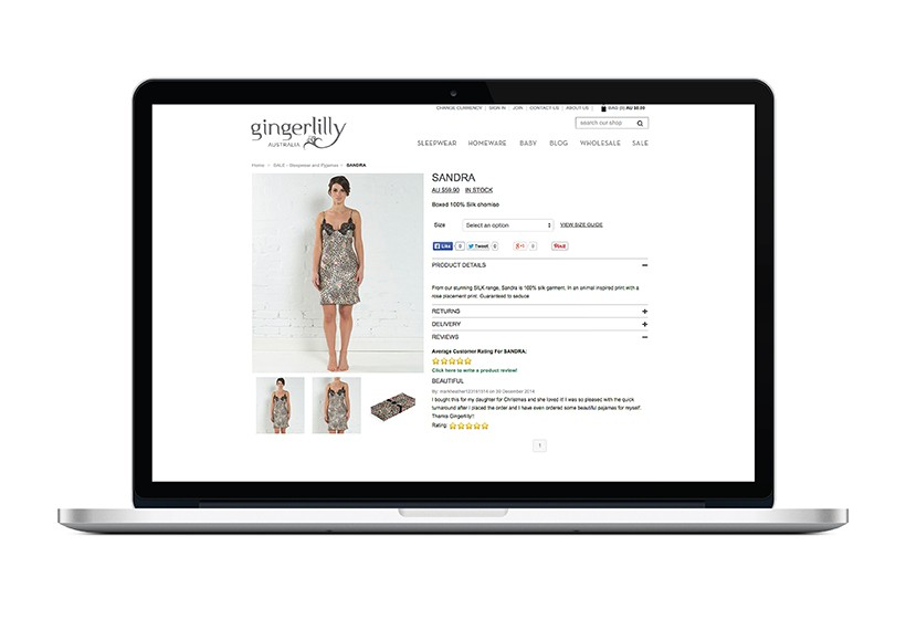 GINGERLILLY SS13 WEBSITE · 04