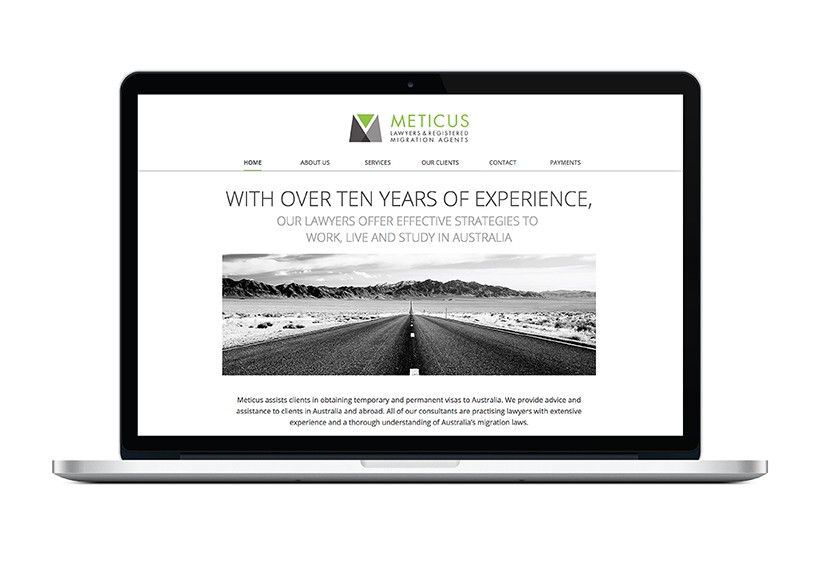 METICUS WEBSITE · 01