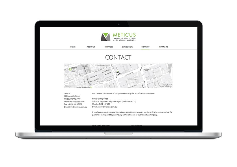 METICUS WEBSITE · 02