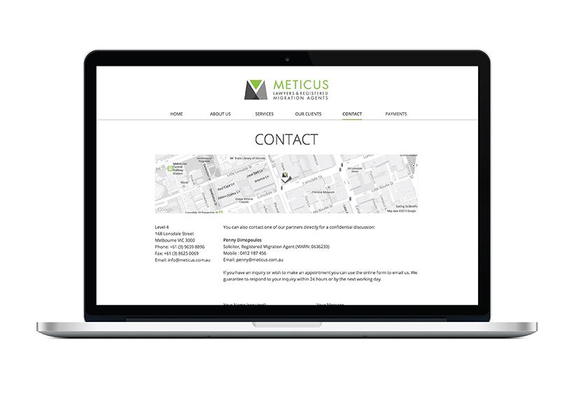 METICUS WEBSITE