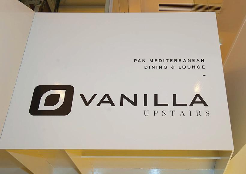 VANILLA UPSTAIRS BRANDING