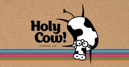 HOLY COW! CHEESE CO. IDENTITY