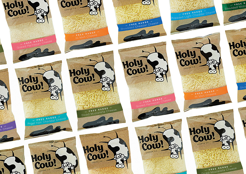 HOLY COW! CHEESE CO. PACKAGING