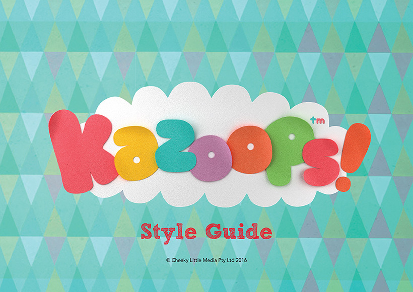 KAZOOPS STYLE GUIDE