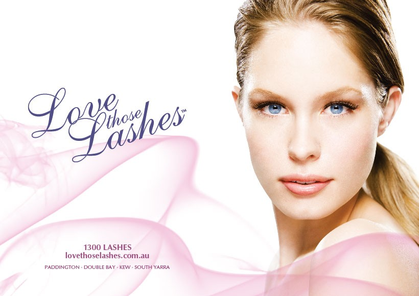 LOVE THOSE LASHES SPRING/SUMMER 2010 CAMPAIGN · 01