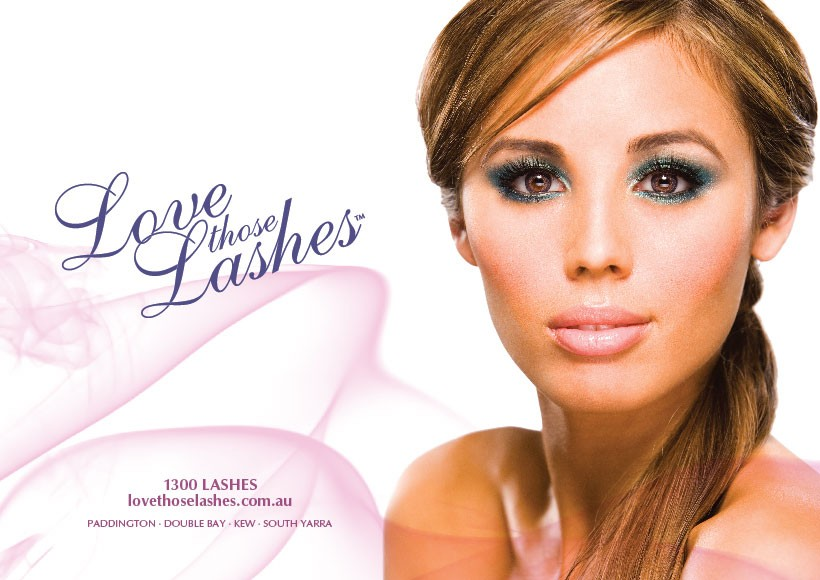 LOVE THOSE LASHES SPRING/SUMMER 2010 CAMPAIGN · 02