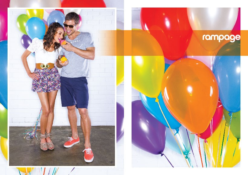 RAMPAGE SPRING/SUMMER 2010 CAMPAIGN · 03