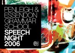 PEGS SPEECH NIGHT 2006 · 01