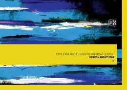 PEGS SPEECH NIGHT 2008 · 01