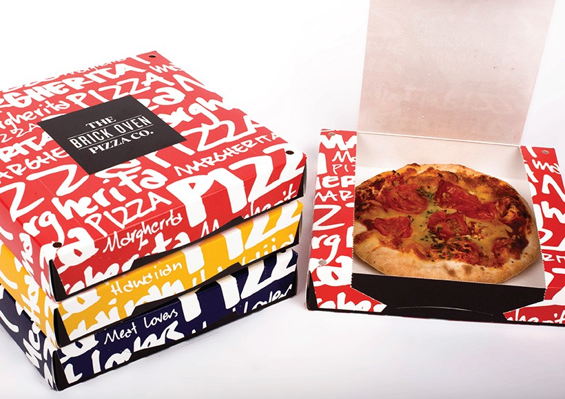 THE BRICK OVEN PIZZA CO. PACKAGING · 03