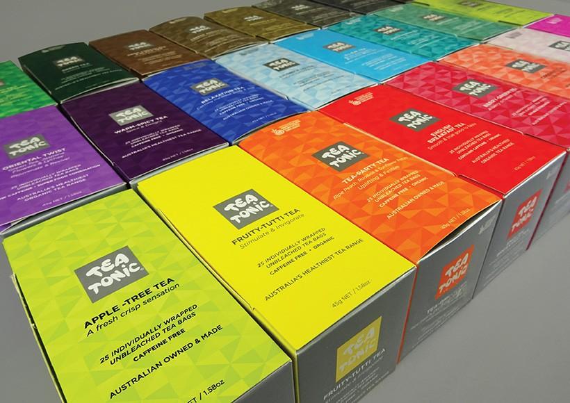 TEA TONIC BOX PACKAGING · 01