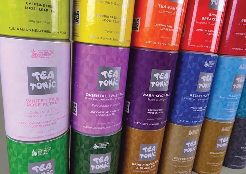 TEA TONIC TUBE PACKAGING · 01
