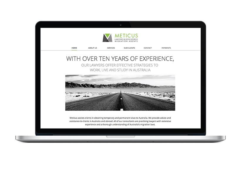 METICUS WEBSITE · 01